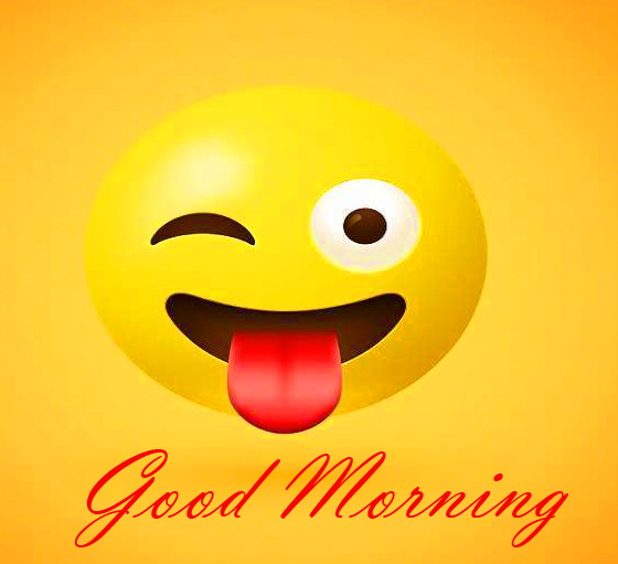 Comedy Emoji Good Morning Picture