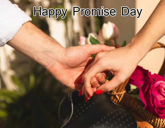 Couple Hands Happy Promise Day Image