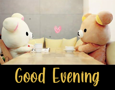 Cute Couple Good Evening Image