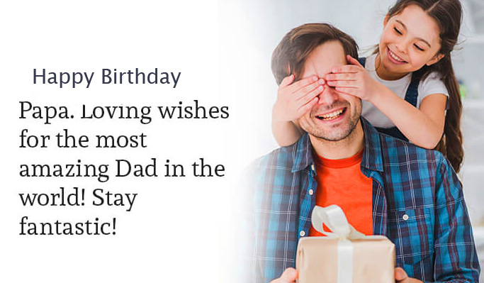 Cute Happy Birthday Papa Picture HD