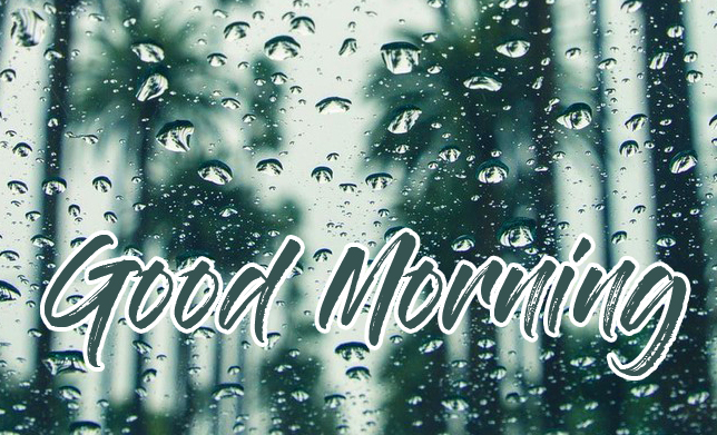 Full HD Good Morning Rainy Picture