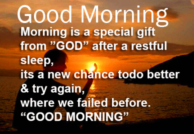 God Quotes with Good Morning Message