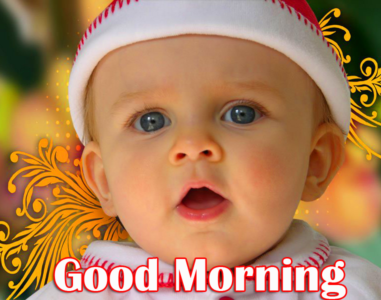 Good Morning Baby Boy HD Pic and Photo