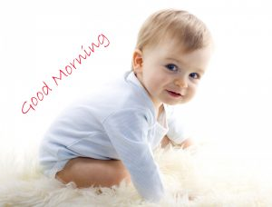 Good Morning Baby Boy Sweet Picture