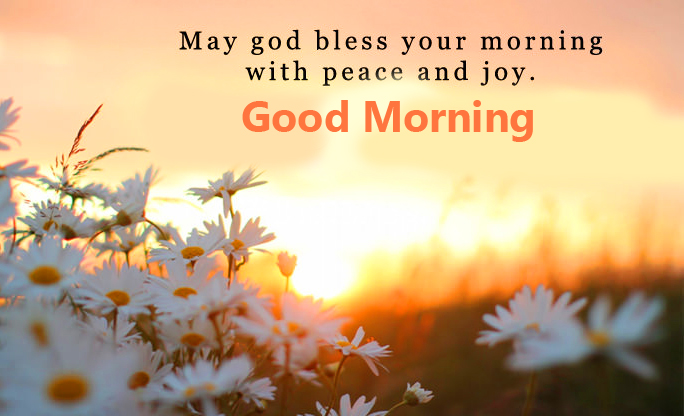 Good Morning Blessings Wish Image