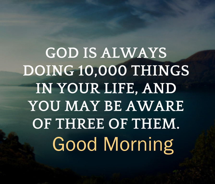 Good Morning God Quotes HD Picture