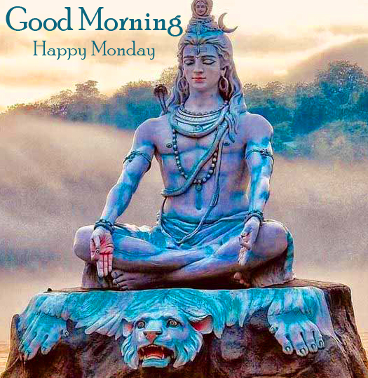 Good Morning Happy Monday Lord Shiva Picture HD