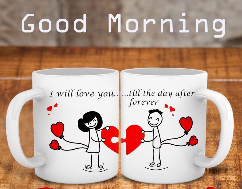 Good Morning Love Coffee Cup Pic