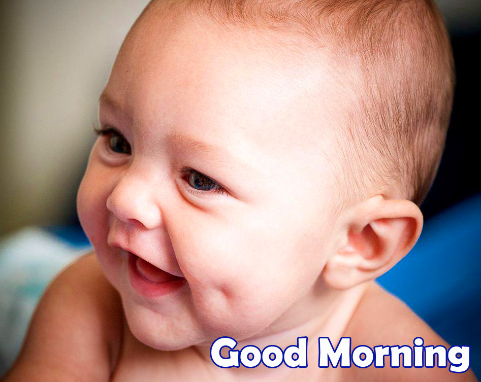 Good Morning Lovely Baby Boy Picture HD