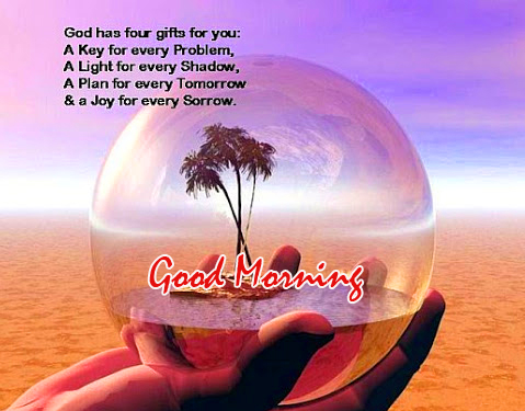 Good Morning Message with Gods Quotes Pic