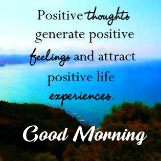 Good Morning Positive Message Photo