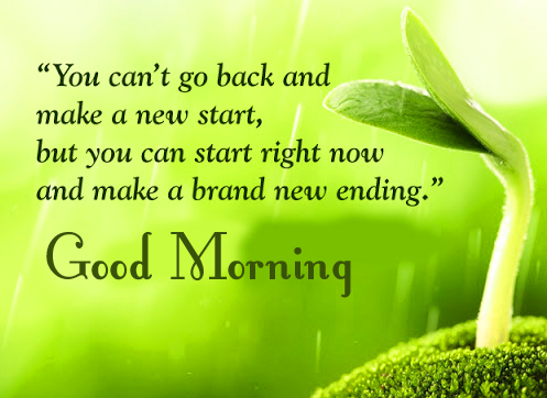 Good Morning Positive Quotes Wallpaper HD