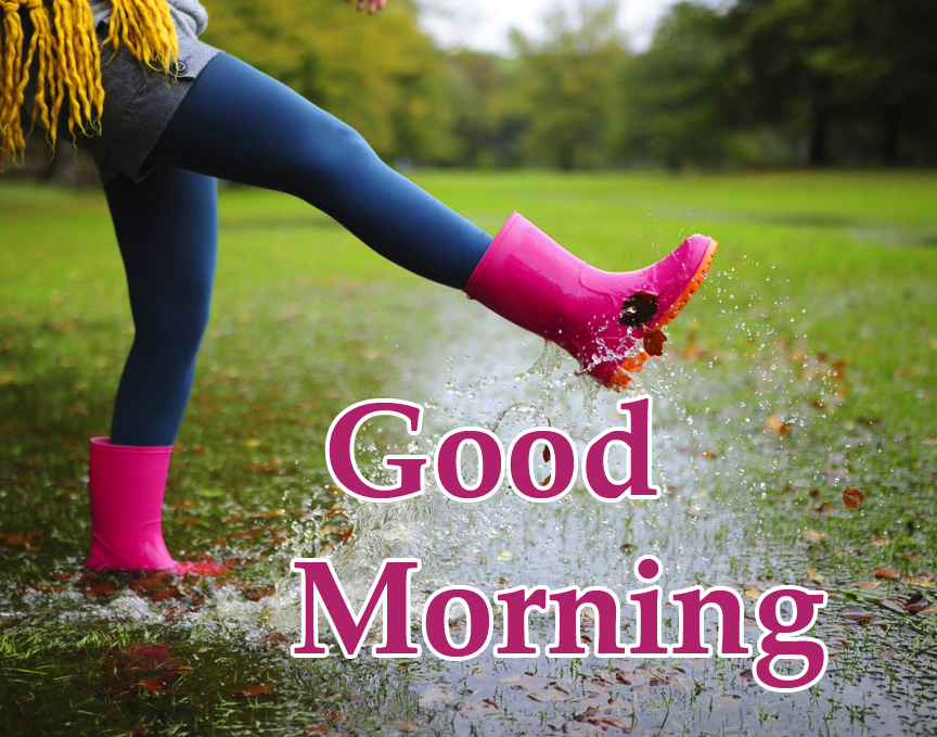 Good Morning Rainy Pic HD