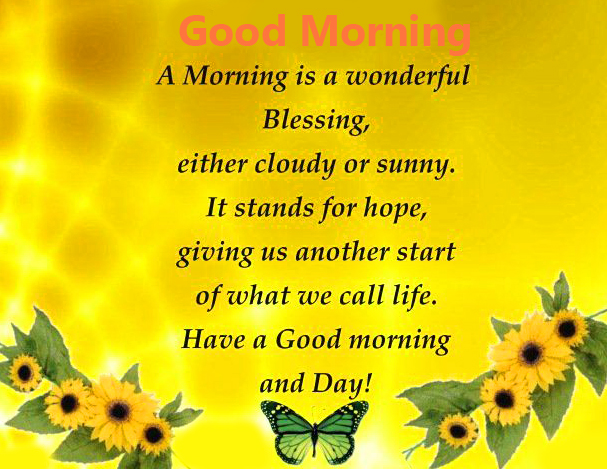 Good Morning Wish with Blessing