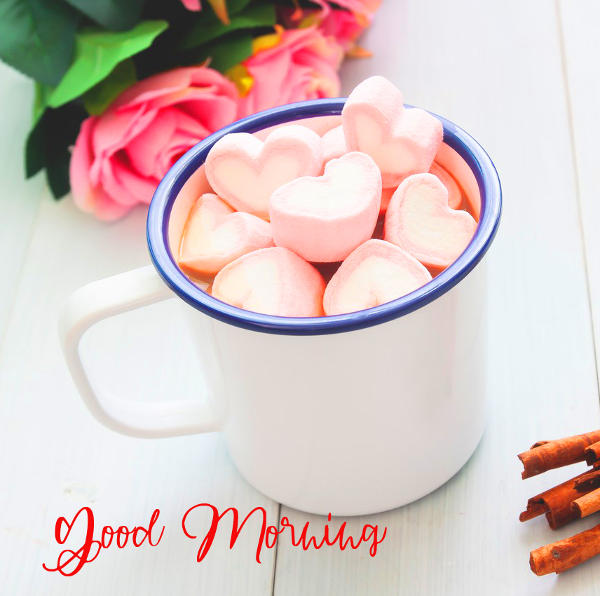 Good Morning Wish with Candy Cup