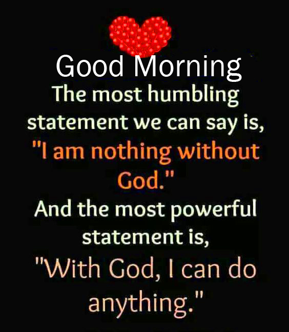 Good Morning Wish with Lovely God Quotes
