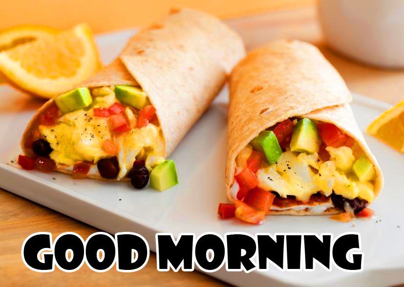 Good Morning with Breakfast Rolls