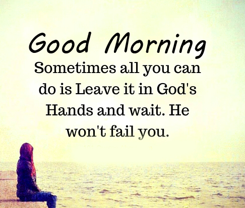 Good Morning with Christian God Quotes