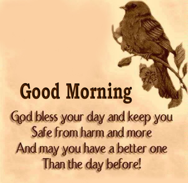 Good Morning with God Bless Quotes Pic
