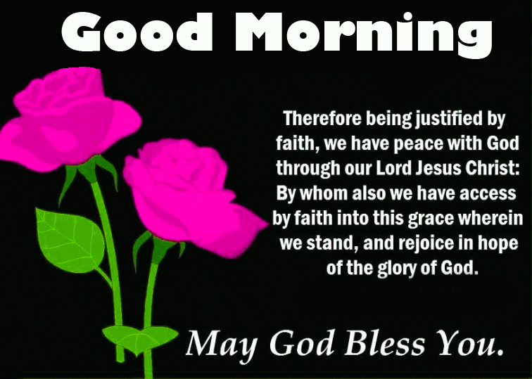 Good Morning with God Blessing
