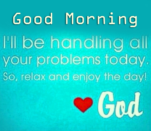 Good Morning with God Picture