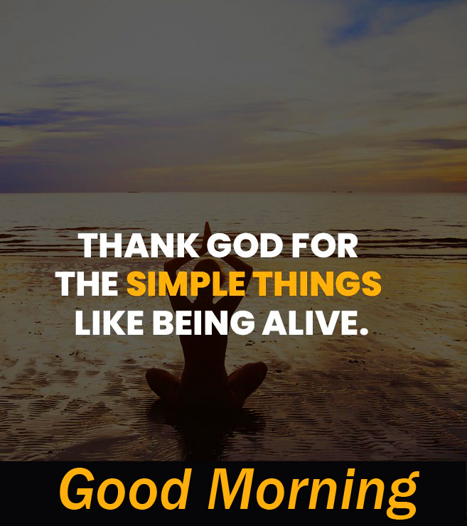 Good Morning with God Quotes Pic