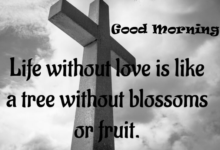 Good Morning with God Quotes Picture HD