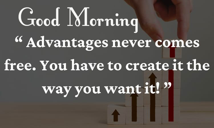 Good Morning with Latest Positive Quotes