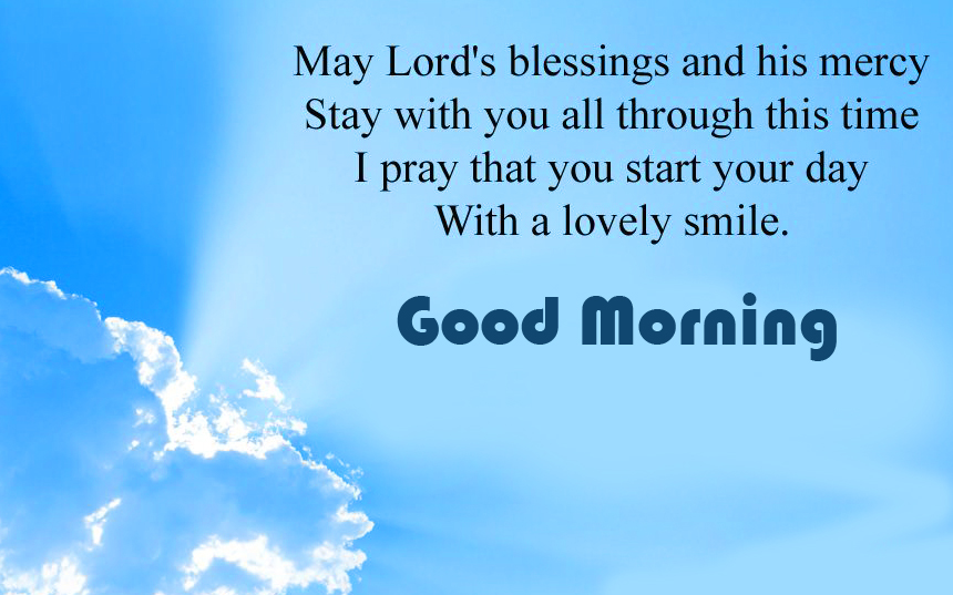 Good Morning with Lords Blessing Photo