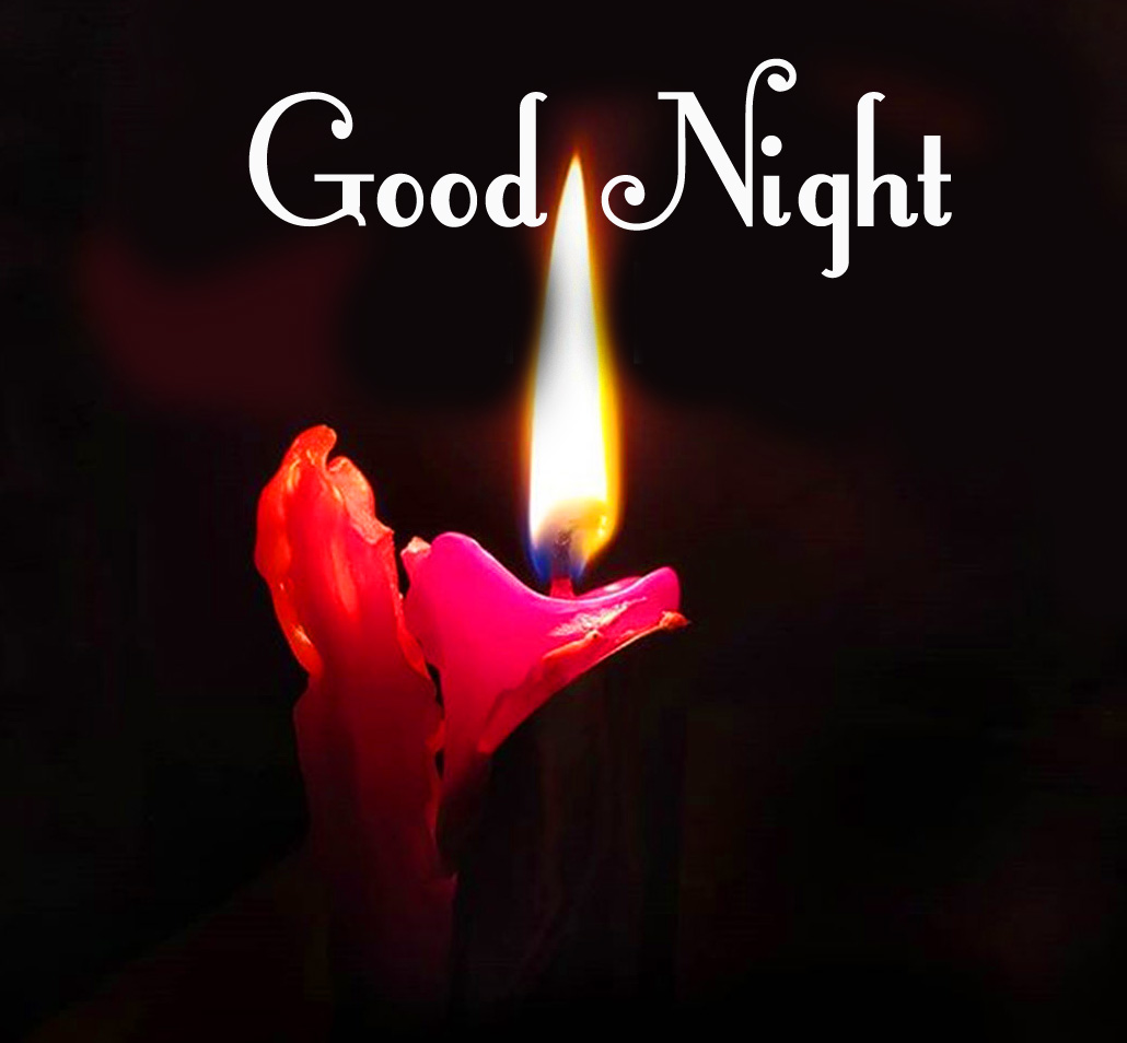 Good Night Candle Wallpaper