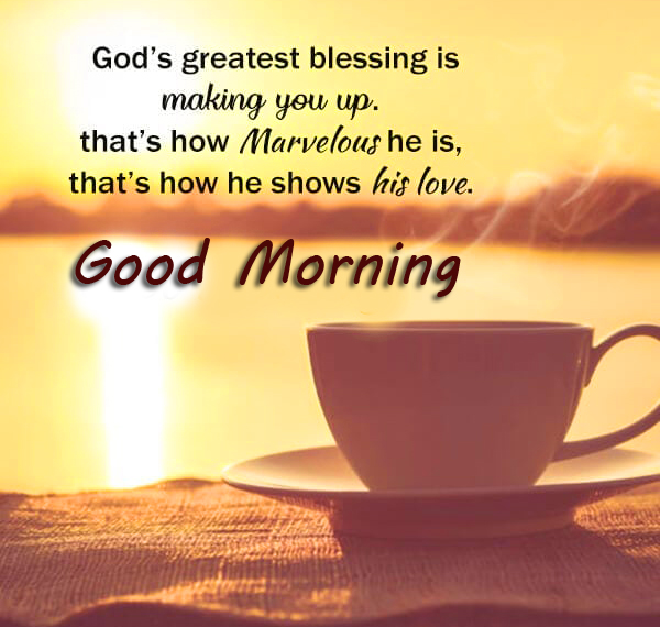 HD God Blessing Quotes Good Morning Image