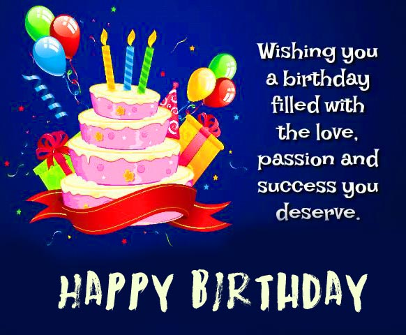 HD Happy Birthday Message for Love