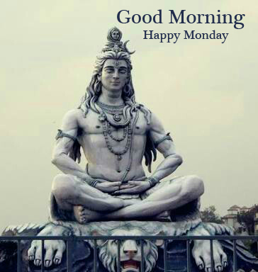 HD Lord Shiva Good Morning Happy Monday Photo and Picture