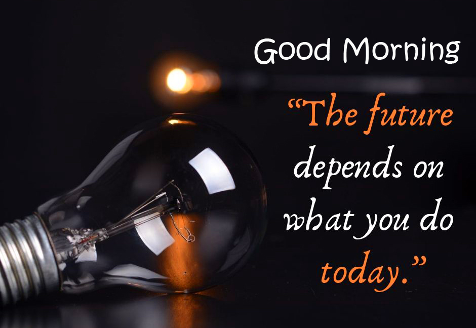 HD Positive Words with Good Morning Wish