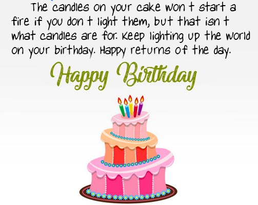 Happy Birthday Message Picture Full HD