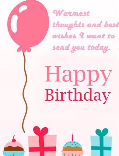 Happy Birthday Message and Wish Wallpaper