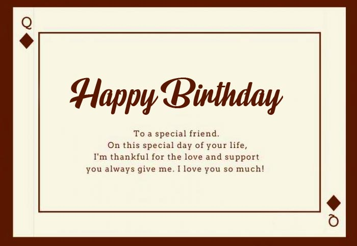 Happy Birthday Special Message Picture