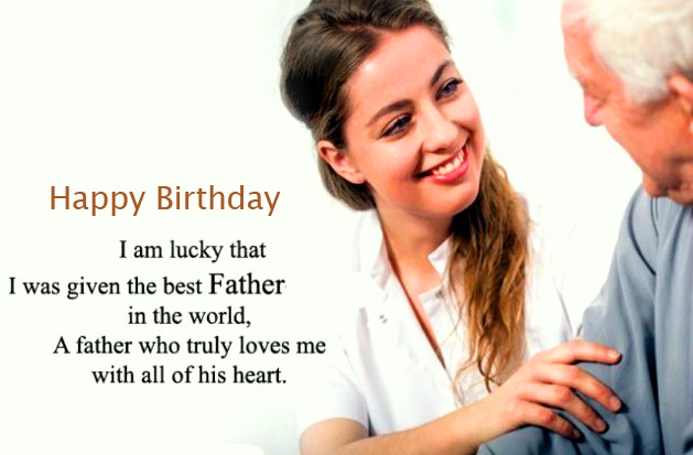 Happy Birthday Wish for Father