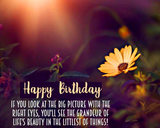 Happy Birthday with Best Life Message