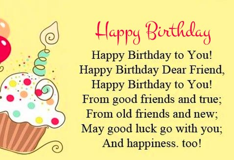 Happy Birthday with Lovely Message