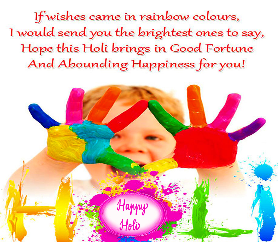 Happy Holi Greetings Quotes Pic