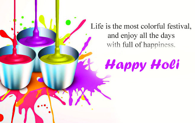 Happy Holi with Beautiful Wish Quotes