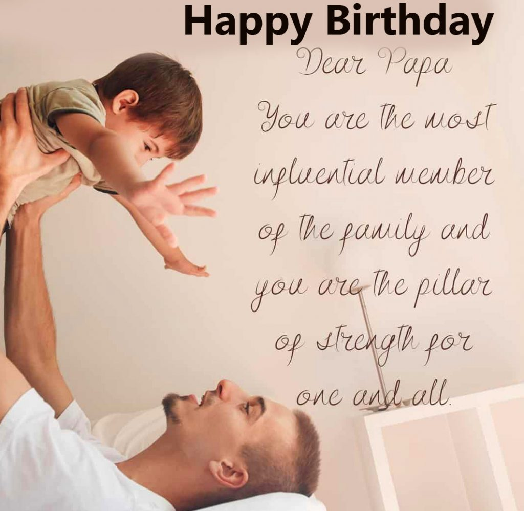 48+ Happy Birthday Greetings for Father