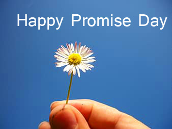 Happy Promise Day Flower Wallpaper