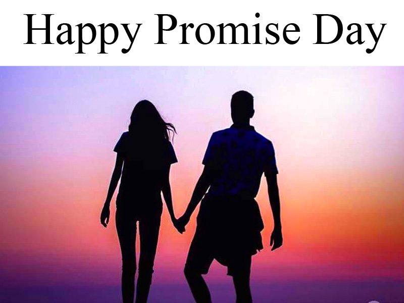 Happy Promise Day Love Couple Pic