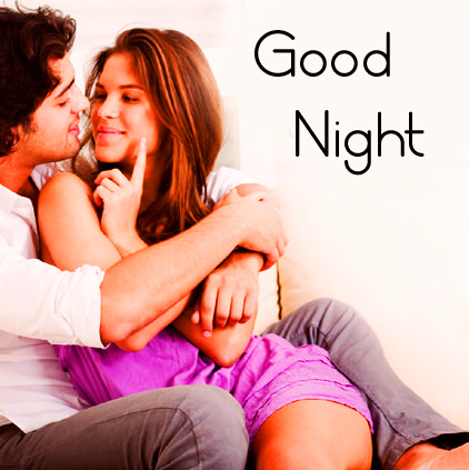 Husband Wife Cute Romantic Good Night Picture