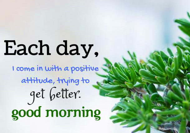 Kind Good Morning Positive Quotes Picture