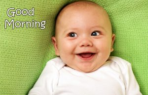Latest Baby Funny Good Morning Pic HD
