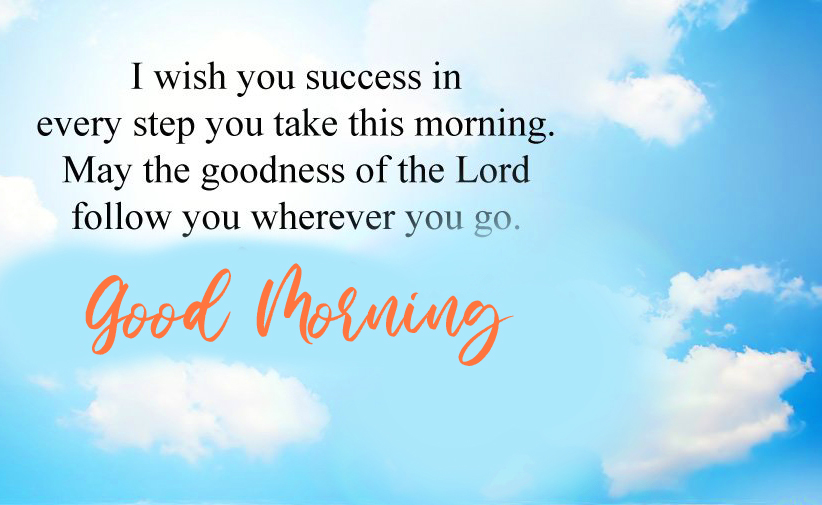 Latest Blessing Wish with Good Morning