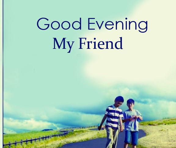 Latest Good Evening Friends Image